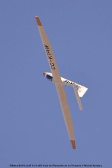 DSC_0264 Pilatus B4-PC11AF CC-K14W Club de Planeadores de Vitacura © Michel Anciaux