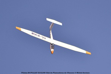 DSC_0266 Pilatus B4-PC11AF CC-K14W Club de Planeadores de Vitacura © Michel Anciaux