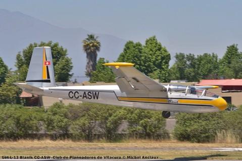 DSC_0428 Let L-13 Blanik CC-ASW Club de Planeadores de Vitacura © Michel Anciaux