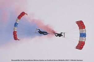 DSC_0475 Escuadrilla de Paracaidismo Boinas Azules en Festival Aéreo Melipilla 2017 © Michel Anciaux