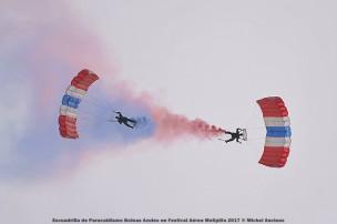 DSC_0477 Escuadrilla de Paracaidismo Boinas Azules en Festival Aéreo Melipilla 2017 © Michel Anciaux