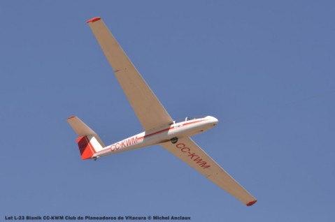 DSC_0547 Let L-23 Blanik CC-KWM Club de Planeadores de Vitacura © Michel Anciaux