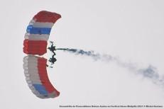 DSC_0559 Escuadrilla de Paracaidismo Boinas Azules en Festival Aéreo Melipilla 2017 © Michel Anciaux