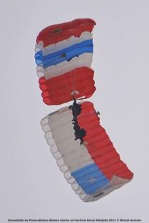 DSC_0602 Escuadrilla de Paracaidismo Boinas Azules en Festival Aéreo Melipilla 2017 © Michel Anciaux