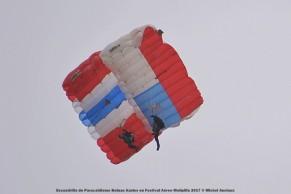 DSC_0620 Escuadrilla de Paracaidismo Boinas Azules en Festival Aéreo Melipilla 2017 © Michel Anciaux