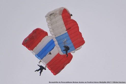DSC_0624 Escuadrilla de Paracaidismo Boinas Azules en Festival Aéreo Melipilla 2017 © Michel Anciaux