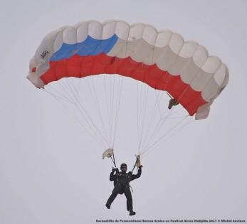 DSC_0635 Escuadrilla de Paracaidismo Boinas Azules en Festival Aéreo Melipilla 2017 © Michel Anciaux