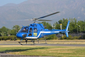 DSC_1053 Eurocopter AS-350B-3 Ecureuil CC-ETE PDI © Michel Anciaux