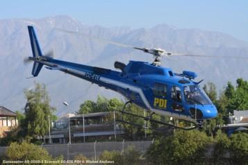 DSC_1056 Eurocopter AS-350B-3 Ecureuil CC-ETE PDI © Michel Anciaux