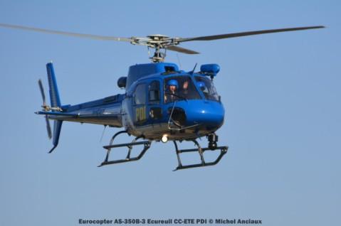 DSC_1059 Eurocopter AS-350B-3 Ecureuil CC-ETE PDI © Michel Anciaux