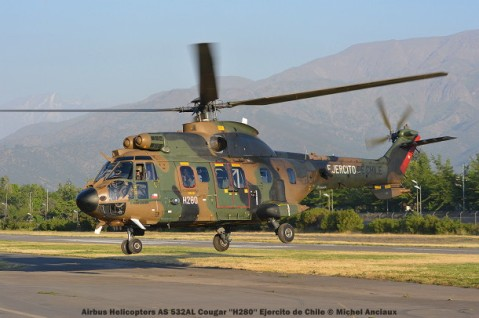 DSC_1094 Airbus Helicopters AS 532AL Cougar ''H280'' Ejercito de Chile © Michel Anciaux