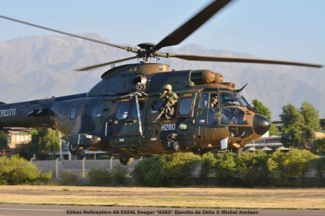DSC_1212 Airbus Helicopters AS 532AL Cougar ''H280'' Ejercito de Chile © Michel Anciaux