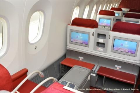 DSC_4945 Hainan Airlines Boeing 787-9 Dreamliner © Hubert Creutzer