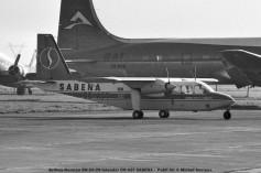img009 Britten-Norman BN-2A-26 Islander OO-AST SABENA - Publi Air © Michel Anciaux
