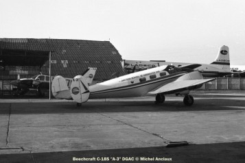 img094 Beechcraft C-18S ''A-3'' DGAC © Michel Anciaux