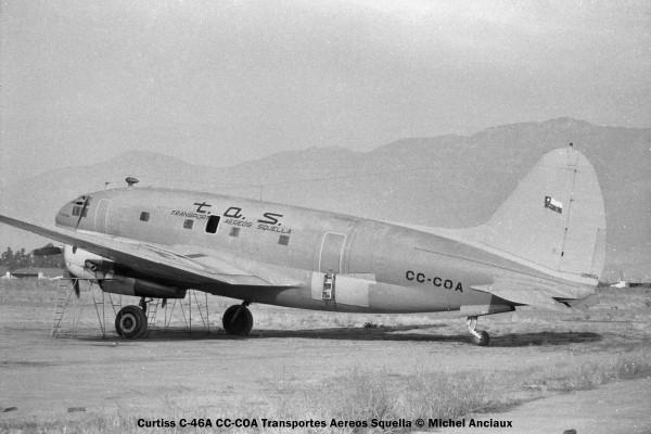 img101 Curtiss C-46A CC-COA Transportes Aereos Squella © Michel Anciaux