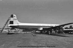 img113 Douglas DC-6B CC-CCI Linea Aerea Sud Americana © Michel Anciaux