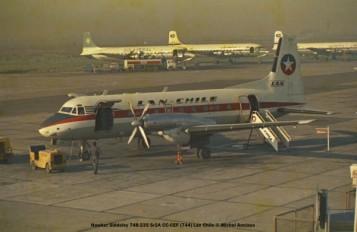 img225 Hawker Siddeley 748-234 Sr2A CC-CEF ''744'' LAN Chile © Michel Anciaux