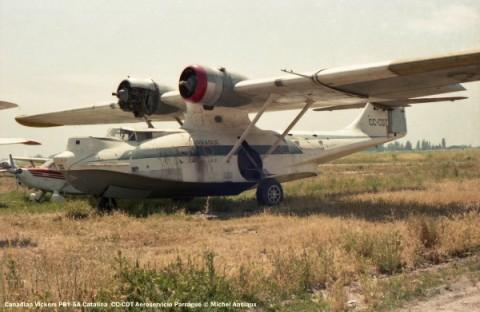 img249 Canadian Vickers PBY-5A Catalina CC-CDT Aeroservicio Parragué © Michel Anciaux