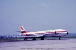 img508Sud-Aviation SE 210 Caravelle 12 OY-SAD Sterling © Michel Anciaux