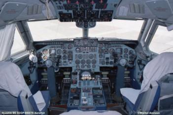 img627 Ilyushin 86 CCCP-86075 Aeroflot © Michel Anciaux