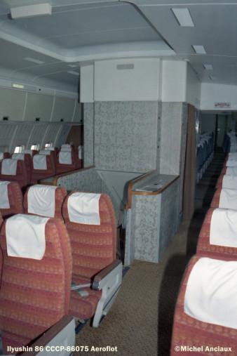 img636 Ilyushin 86 CCCP-86075 Aeroflot © Michel Anciaux