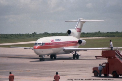 img935 Boeing 727-27C HP-1063 COPA Panama © Michel Anciaux