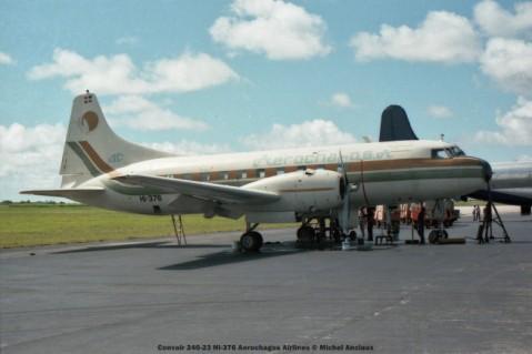 img946 Convair 240-23 HI-376 Aerochagos Airlines © Michel Anciaux