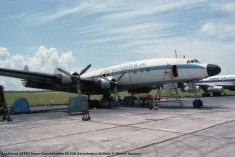 img964 Lockheed 1049C Super Constellation HI-228 Aerochagos Airlines © Michel Anciaux