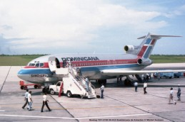 img971 Boeing 727-173C HI-312 Dominicana de Aviación © Michel Anciaux