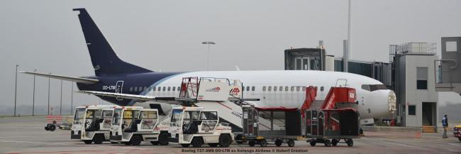 04 Boeing 737-3M8 OO-LTM ex Korongo Airlines © Hubert Creutzer