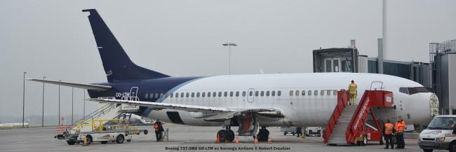 05 Boeing 737-3M8 OO-LTM ex Korongo Airlines © Hubert Creutzer