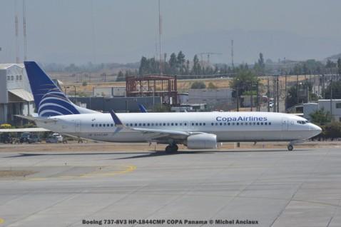 DSC_0073 Boeing 737-8V3 HP-1844CMP COPA Panama © Michel Anciaux