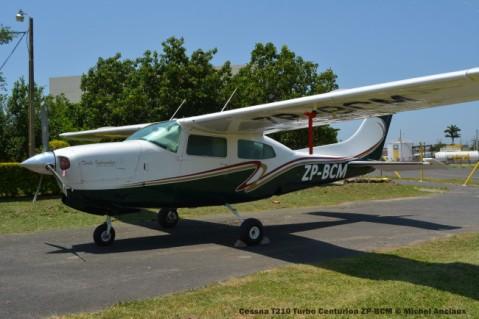 DSC_0255 Cessna T210 Turbo Centurion ZP-BCM © Michel Anciaux
