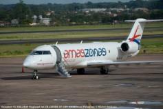 DSC_0353 Canadair CL-600-2B19 Regional Jet CRJ-200ER ZP-CRS Amaszonas Paraguay © Michel Anciaux