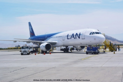 DSC_0405 Airbus A321-211(SL) CC-BEB LATAM Chile © Michel Anciaux