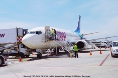 DSC_0409 Boeing 737-36N CC-AVL Latin American Wings © Michel Anciaux