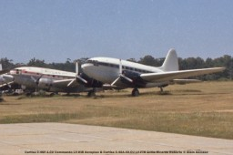 img889 Curtiss C-46F-1-CU Commando LV-HIB Aeroplan & Curtiss C-46A-40-CU LV-FTR Grillo Ricardo Roberto © Alain Anciaux