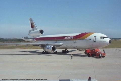 img902 McDonnell Douglas DC-10-30 EC-DHZ Iberia © Michel Anciaux
