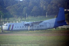 img914 Fairchild-Hiller FH-227B CX-BQT Aerolineas Uruguayas ex OO-DTB © Michel Anciaux
