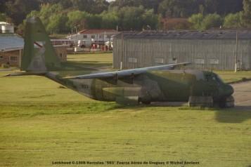 img921 Lockheed C-130B Hercules ''593'' Fuerza Aérea de Uruguay © Michel Anciaux