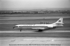 0003 Sud-Aviation SE-210 Caravelle 10B3 YK-AFC Syrian Arab Airlines © Michel Anciaux
