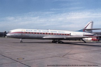 0007 Sud-Aviation SE-210 Caravelle III ex XU-JTB Air Cambodge © Michel Anciaux
