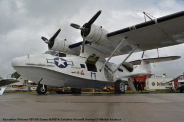 002 Canadian Vickers PBY-5A Canso G-PBYA Catalina Aircraft Limited © Michel Anciaux