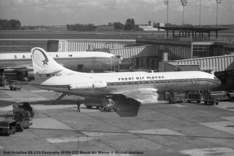 002 Sud-Aviation SE-210 Caravelle III CN-CCT Royal Air Maroc © Michel Anciaux