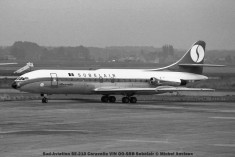 002 Sud-Aviation SE-210 Caravelle VIN OO-SRB Sobelair © Michel Anciaux
