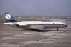 005 Sud-Aviation SE-210 Caravelle VIN OO-SRC Sobelair © Michel Anciaux