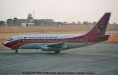 007 Boeing 737-2M2 D2-TBX TAAG- Angola Airlines © Michel Anciaux