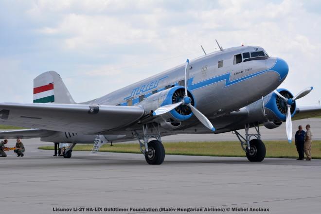 007 Lisunov Li-2T HA-LIX Goldtimer Foundation (Malév Hungarian Airlines)