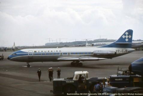01 Sud-Aviation SE 210 Caravelle VIR PP-CJB Cruzeiro Do Sul © Michel Anciaux